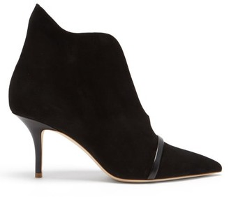 Malone Souliers Cora Suede Ankle Boots - Black