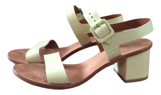 LOQ Green Patent leather Sandals
