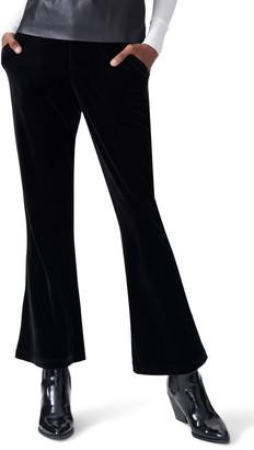 Universal Standard Farrah Velvet Flare Pants