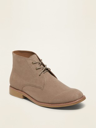 Old Navy Faux-Suede Chukka Boots for Men