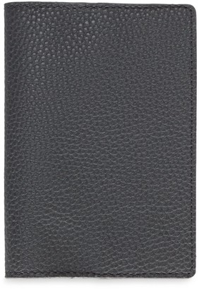 Passport Cover In Black Sand