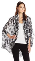 Michael Stars Women's Ikant Even Cocoon Wrap