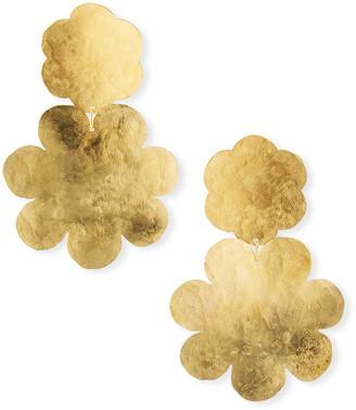 We Dream In Colour Fleur Double-Drop Earrings