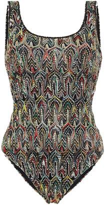 Missoni Mare Mare Crochet-knit Swimsuit