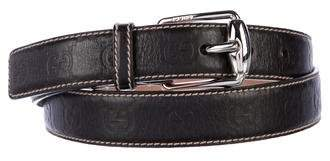 Gucci Guccissima Leather Belt w/ Tags