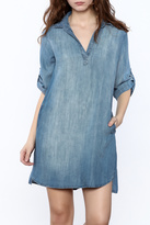 Elan Denim Shift Dress