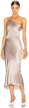 Alix Quincy Dress in Dove | FWRD