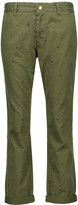 Current/Elliott The Buddy printed cotton-twill straight-leg pants