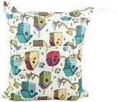 "Panda Superstore Birds Wet Bags Waterproof Diaper Bag Multi-function Nappy Bag -14""*11"" Colorful"