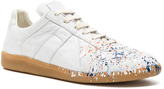 Maison Margiela Painted Leather Replica Sneakers