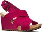 Clarks R) Flex Platform Wedge Sandal