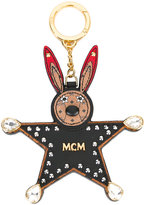 MCM bunny star keyring - women - Calf Leather/plastic/metal/glass - One Size