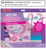 Melissa & Doug Kids' Mess-Free Glitter Headbands & Barrettes Set