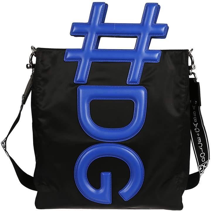 Dolce & Gabbana 3d Logo Shoulder Bag