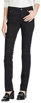 Lauren Ralph Lauren Premier Straight Sateen Jeans, Polo Black