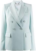 Stella McCartney double-breasted peaked-lapel blazer