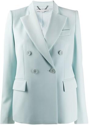 Stella McCartney double-breasted peaked lapel blazer