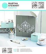 Martha Stewart Medium Stencils 2 Sheets/pkg-flourish 8-3/4 Inch X 028995322556