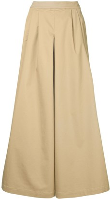 Huishan Zhang Cropped Wide-Leg Trousers