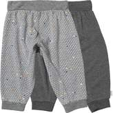 Converse Baby Boys Two Pack Hanging Jogger Set Dark Grey Heather