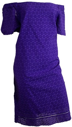 Lauren Ralph Lauren Purple Cotton Dress for Women