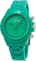 Toy Watch ToyWatch MonoChrome Green Plasteramic Watch