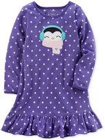 Carter's Dot-Print Penguin Nightgown, Little Girls (4-6X) and Big Girls (7-16)