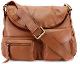 The Leather Store Tan Slouchy Cross Body Handbag