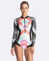 Roxy Womens Pop Surf 1mm Long Sleeve Bikini Springsuit Wetsuit