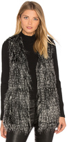 BB Dakota Jack By Agneta Faux Fur Vest