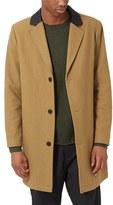 Topman Men's Wool Blend Topcoat