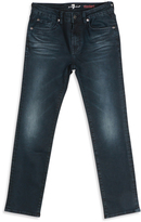 7 For All Mankind Slate Blue Standard Jeans - Boys