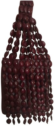 Maliparmi Burgundy Leather Handbags