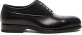 Jil Sander Leather Maremma Oxfords