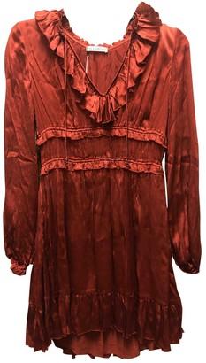 Ulla Johnson Red Silk Dresses
