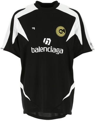 Balenciaga Soccer Oversized T-Shirt