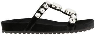 Miu Miu Flat Sandals Shoes Women