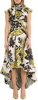 OHLENDORF atelier Floral Hi-Low Dress
