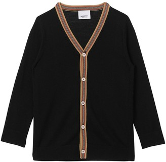 Burberry Wool Knit Cardigan
