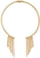 White House Black Market Chain Fringe Collar Necklace