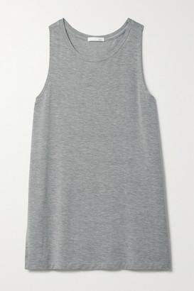 Skin Linor Melange Stretch-jersey Tank - Gray