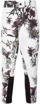 Ann Demeulemeester floral print pants