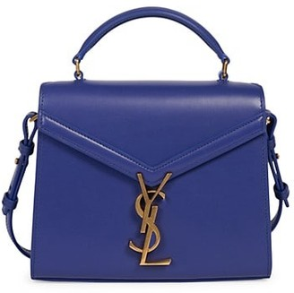 Saint Laurent Mini Cassandra Leather Satchel