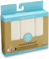 Charlie Banana 10-Pack Organic Cotton Wipes