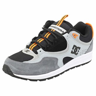 DC Kalis Lite SE - Leather Shoes for Men - Leather Shoes - Men Black Orange