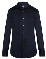 Brioni Single-cuff cotton-jersey shirt