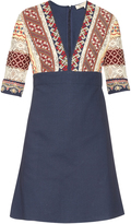 Vanessa Bruno Ely V-neck embroidered dress