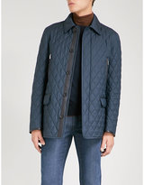 Brioni Quilted Wool And Silk-blend Jacket