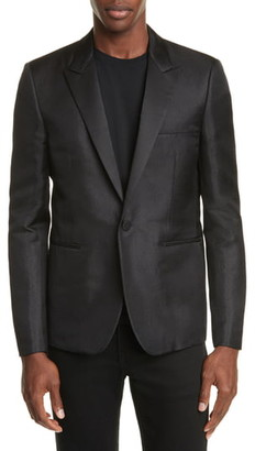 Saint Laurent Veste Courte Silk Blend Dinner Jacket