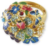 The Well Appointed House Multi-Color Flower Ring